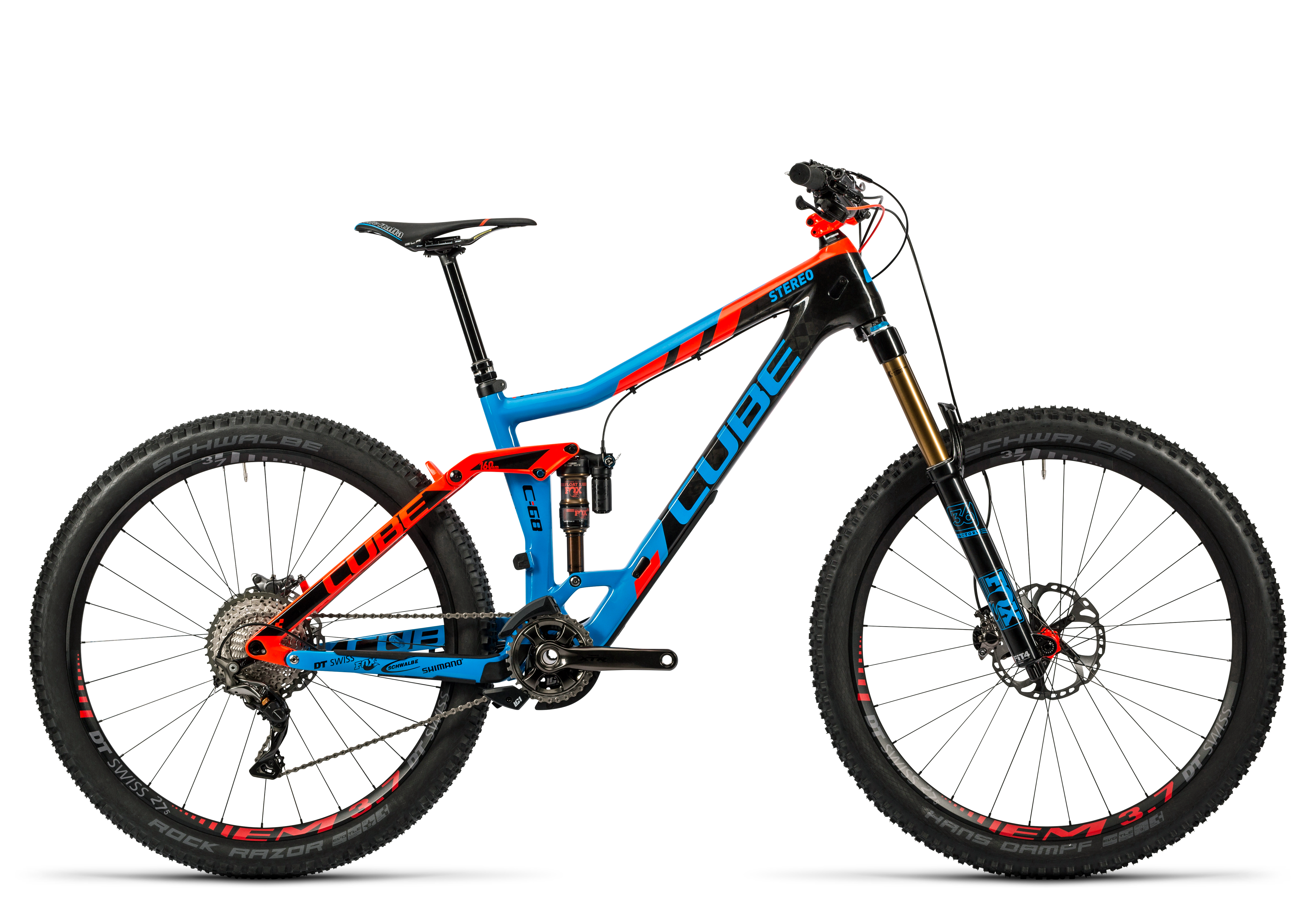 ddf9ef29ed7 2016 CUBE STEREO 160 C:68 TEAM FULL SUSPENSION MOUNTAIN BIKE £4,599.00