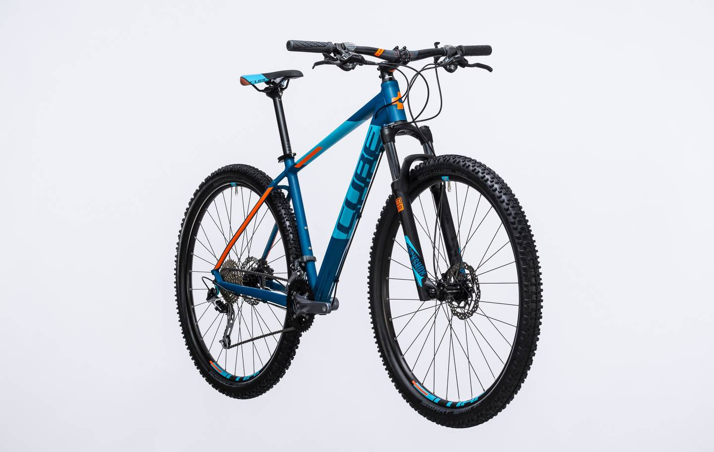 74f33c3526d 2017 CUBE ANALOG HARDTAIL BLUE £629.00