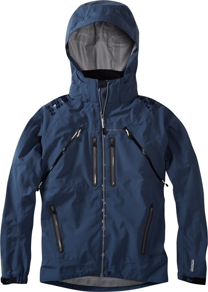Madison Addict Storm 3-Layer Waterproof Jacket Airforce Blue